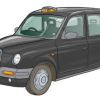Black London taxi
