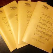 One year on: Evaluating the impact of the closure of the Independent Living Fund