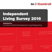 Report on the Independent Living Survey 2016