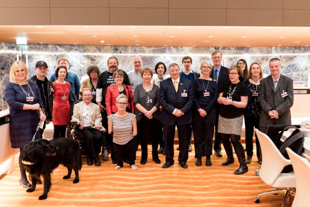 ROFA delegates in Geneva