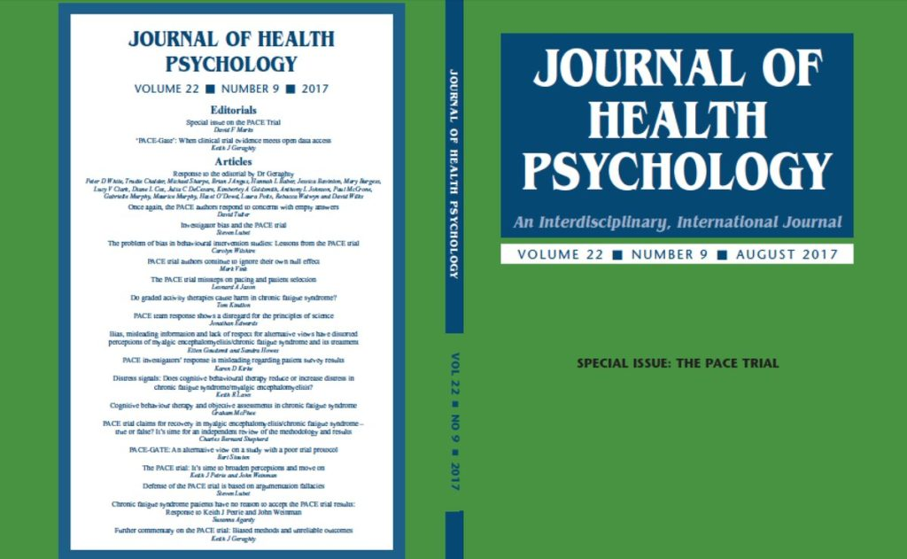 Cover of The Journal of Health Psychology