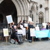 We had to stand up for our right to Independent Living – Davey Case Intervention