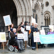 A Disabled man loses his court battle for a right to live an ordinary life