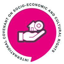 Logo for the International Covenant on Socio-Economic and Cultural Rights