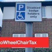 Campaign to simplify disabled parking in London