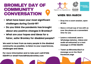 Bromley Day of Community Conversation flyer