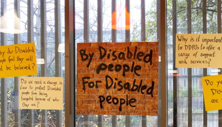 By disabled people for disabled people